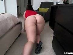 Brunette Cutie With Large Booty Poses For You 2