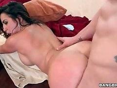 Stunning Brunette Adores Good Hard Fucking 1